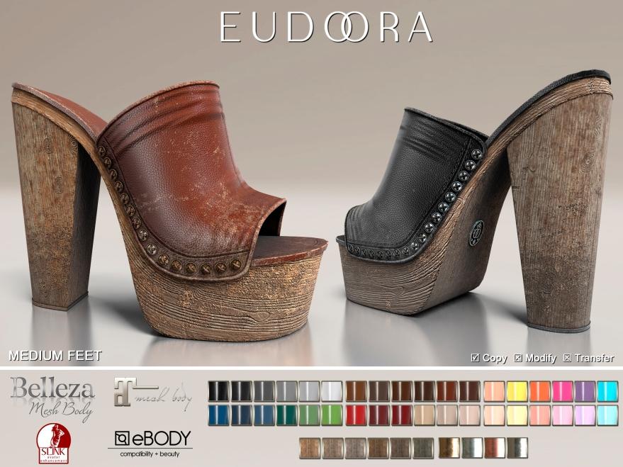 Eudora3D LastSummer Clogs FATPACK